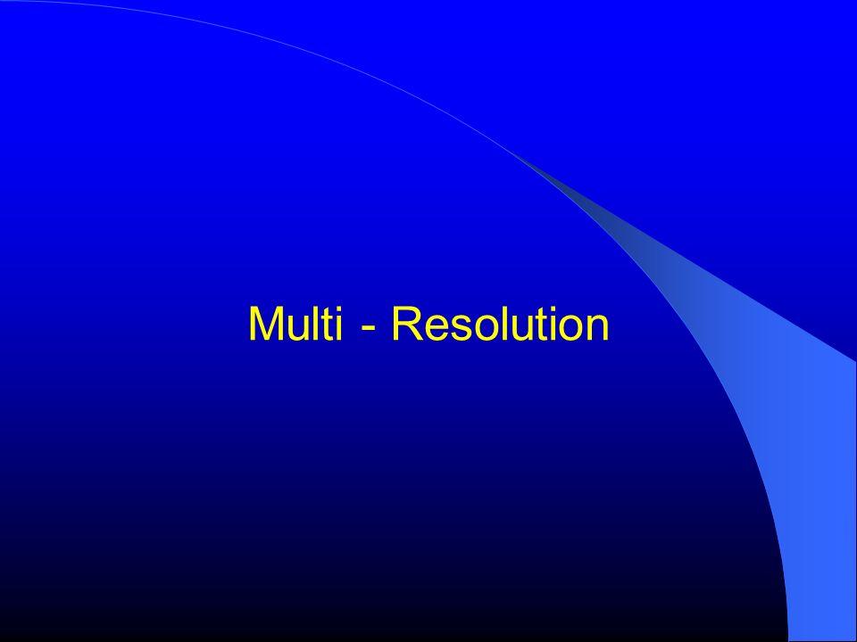 Multi - Resolution
