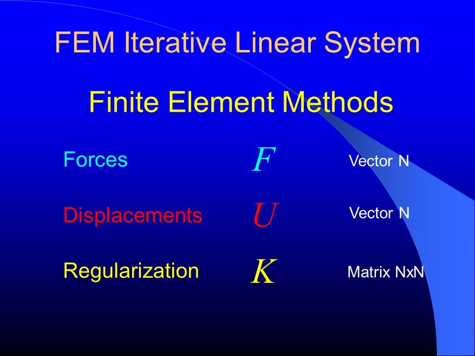 FEM Iterative Linear System