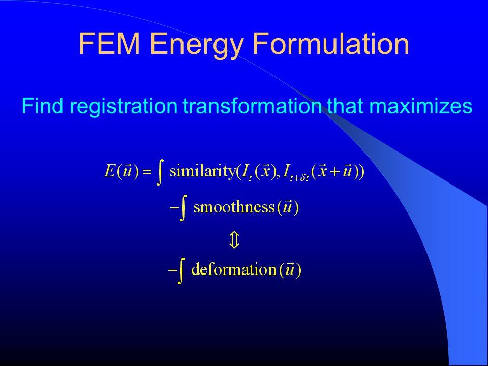 FEM Energy Formulation