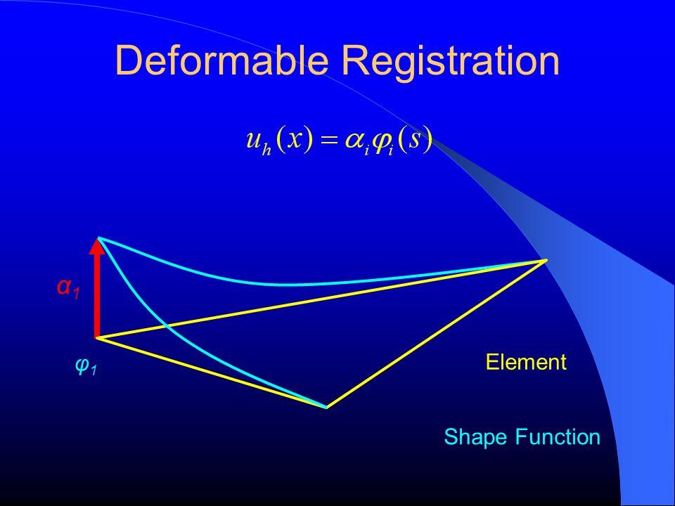 Deformable Registration