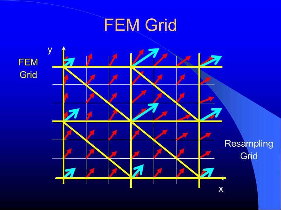 FEM Grid y FEM Grid Resampling Grid x