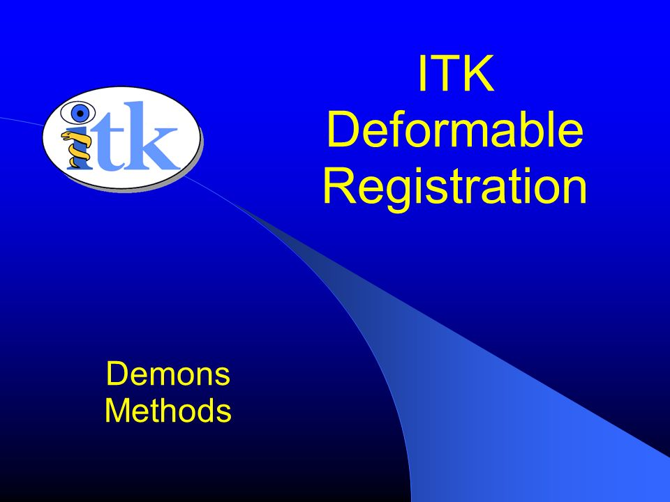 ITK Deformable Registration