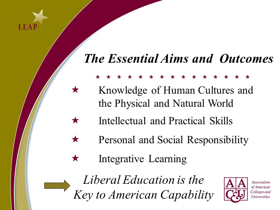 The Essential Aims and Outcomes