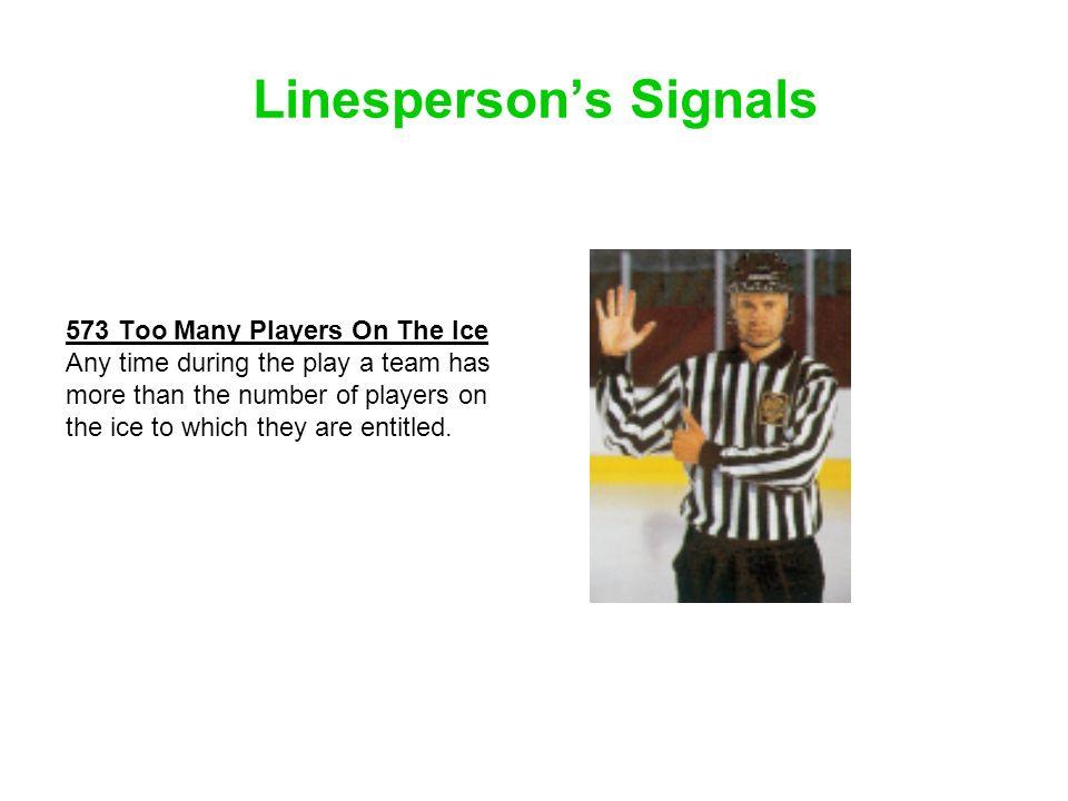 Linesperson's Signals