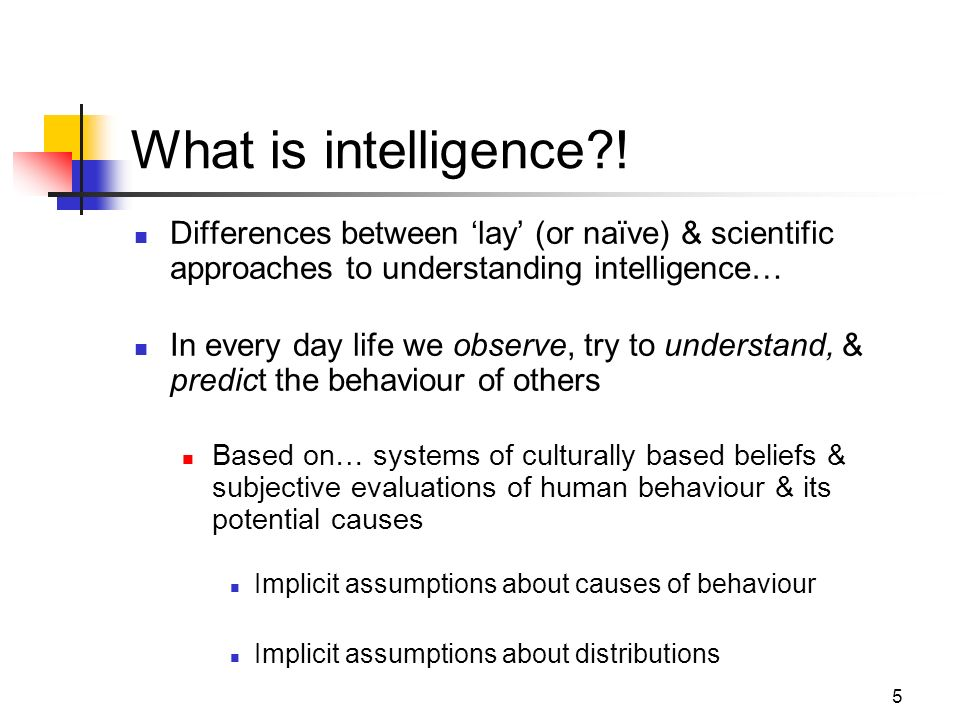 theoretical approaches to intelligence 2 7 general intelligence the idea that general intelligence (g) exists comes from the work of charles spearman (1863-1945) who helped develop the factor analysis approach in.