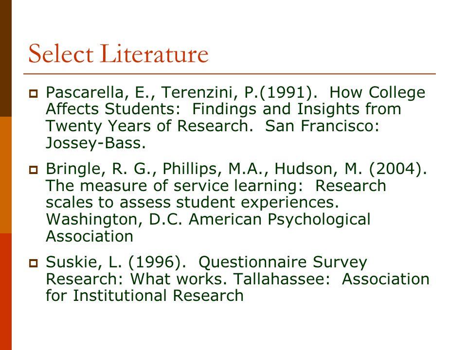 Select Literature