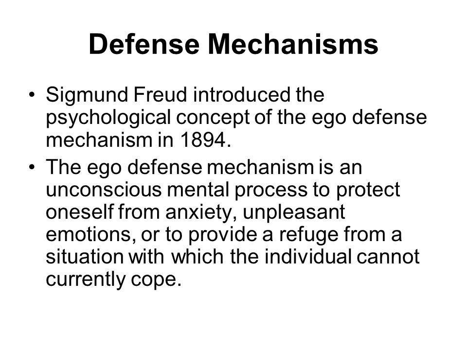 sigmund freuds views on the human behavior of the ego Key takeaways key points sigmund freud 's psychoanalytic theory of personality argues that human behavior is the result of the interactions among three component parts of the mind: the id, ego, and superego.