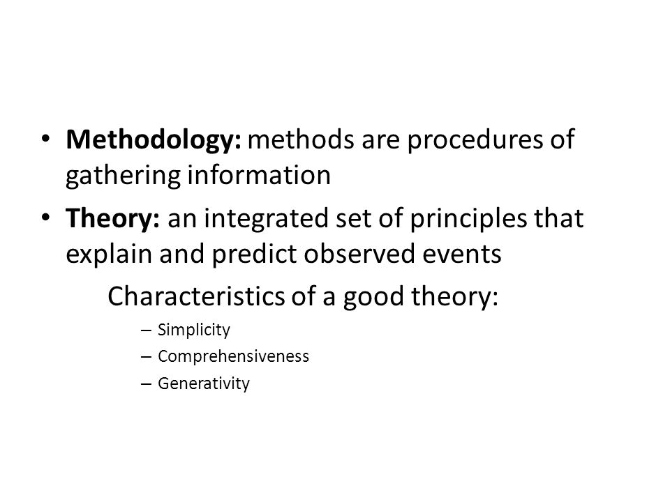 methodology and procedures The purpose of the methodology chapter is to give an experienced  design,  development of the instrument, data collection procedures,.