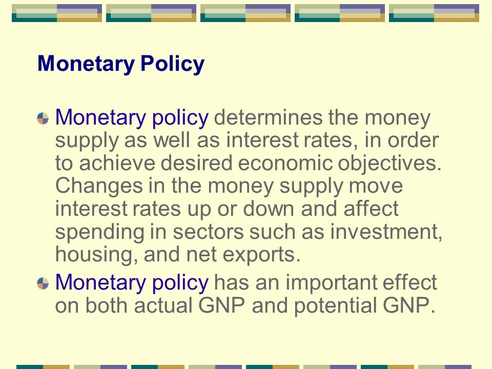 monetary policy prescription to reduce or eliminate deflation Monetary policy and asset price bubbles the appropriate monetary policy response to an a bubble policy would go further and try to reduce the size of the.
