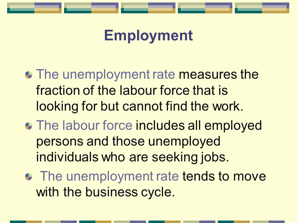 the labour force and unemployment economics essay Read this essay on unemployment of the cause of unemployment keynesian economics proposes that there is a labor force will continue to grow each.
