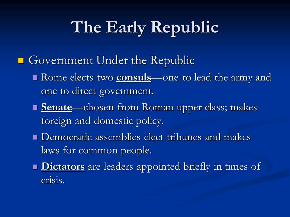 The Roman Republic Chapter 6 Section Ppt Video Online