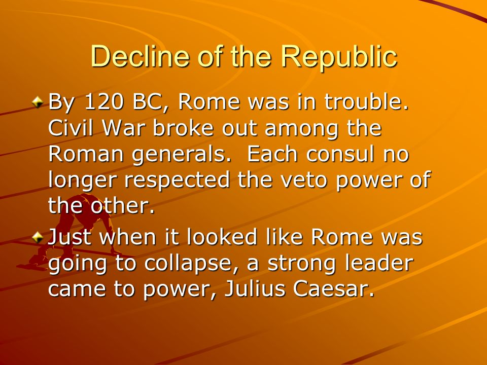 Decline of the Republic