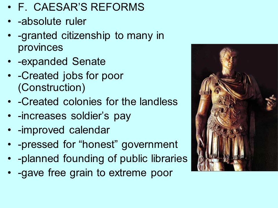 a paper on caesars assassination civil war and egypt rulers His romantic and political alliance with the egyptian igniting the republican civil war when caesar he took charge of caesar's will and papers and.