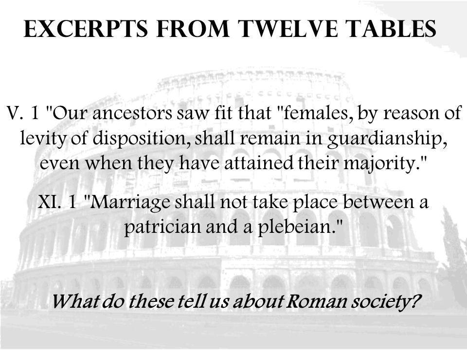 how was paterfamilias in roman culture reflected in the relationship between plebians and patricians Ap world history ch 5 notes - law essay example question 1: what were the features of roman society and politics during the republicap world history ch 5 notes.