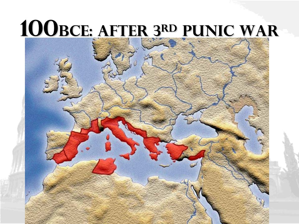 the 3rd punic war The third punic war was fought between carthage and rome between 149 and  146 bce carthage had already lost two wars against rome,.