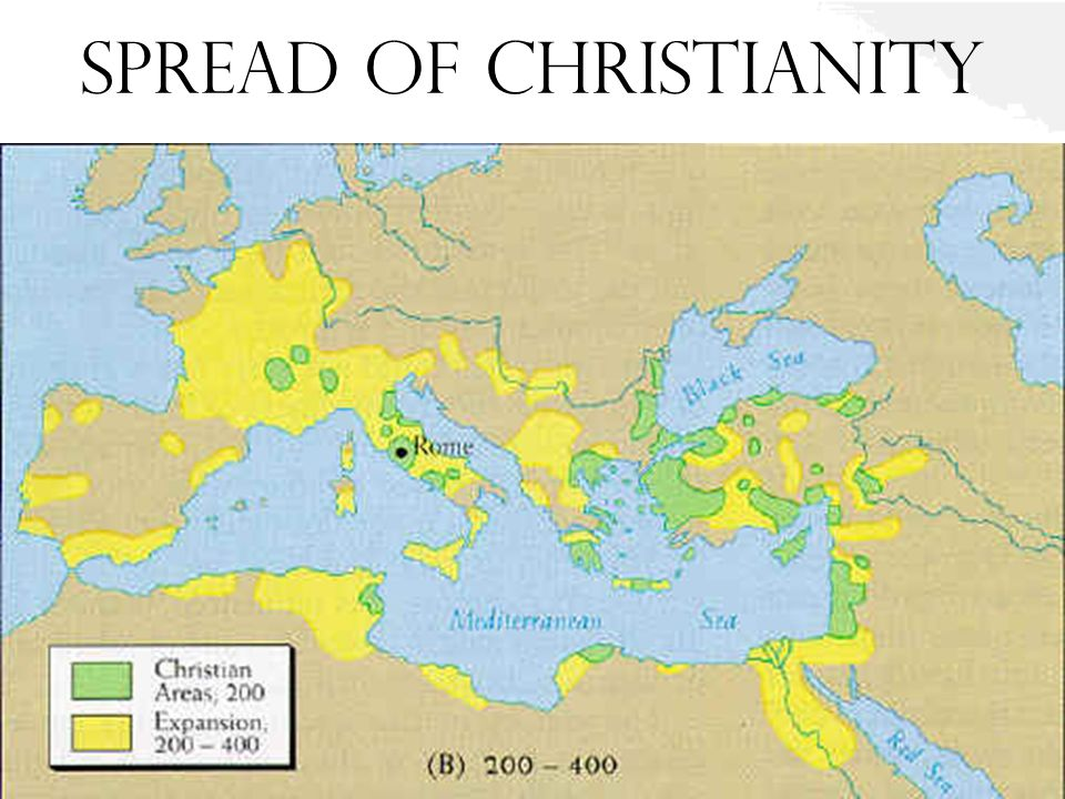 the history of christianity and its spread throughout the world Christianity : christianity are several independent churches of eastern christianity as well as numerous sects throughout the world and its history.