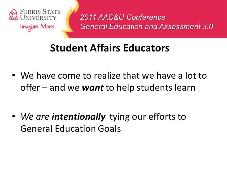 Student Affairs Educators
