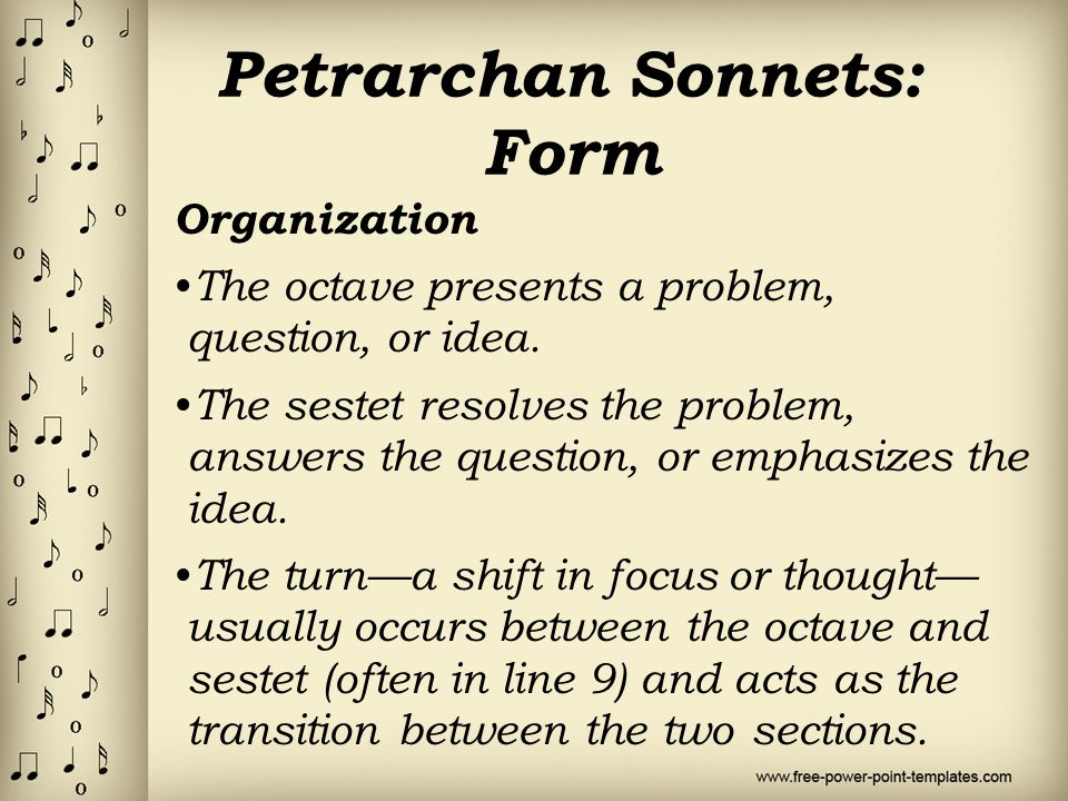 Sonnets. - ppt video online download