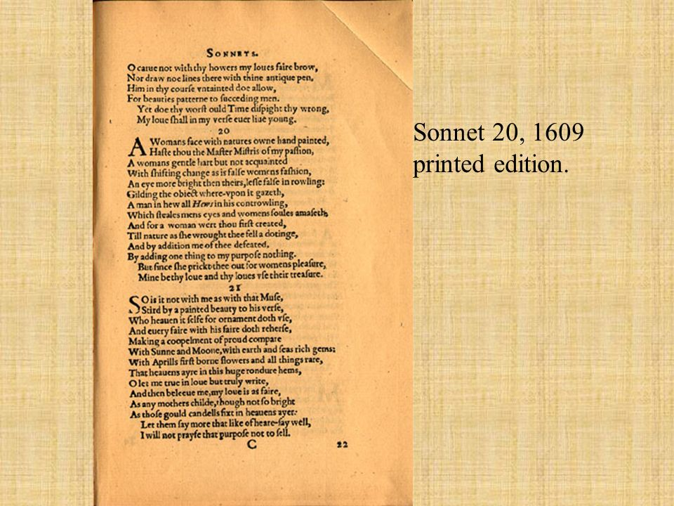 dissolution versus debauchery in sonnet 96 essay This article is written like a personal reflection or opinion essay that states sonnet petrarch's and shakespeare's sonnets against the dissolution of.
