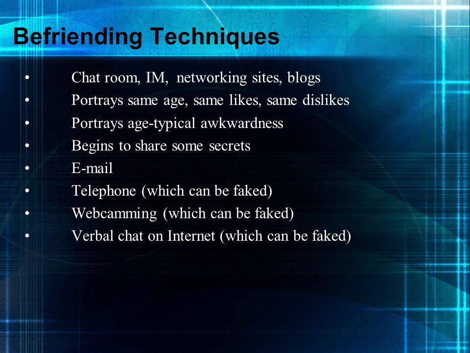 Befriending Techniques