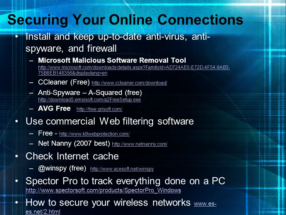 Securing Your Online Connections