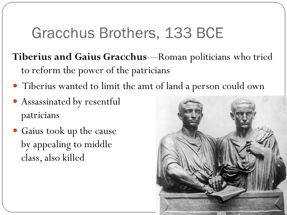 Gracchus Brothers