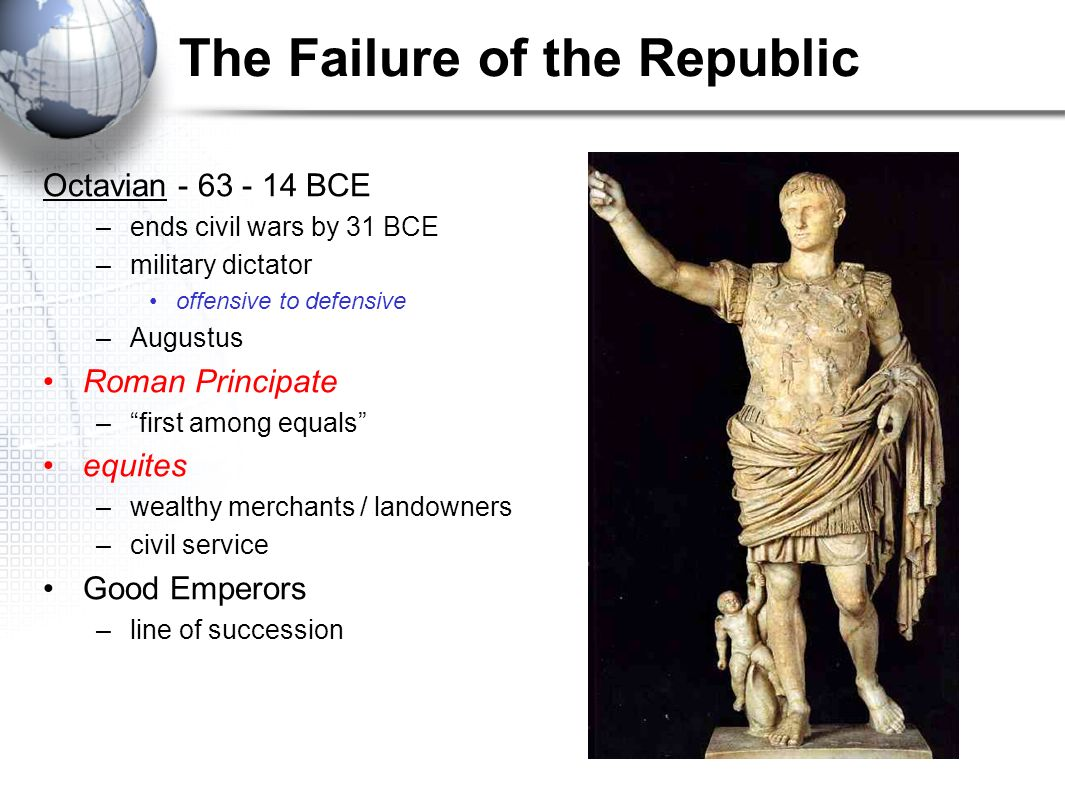 a history of the roman principate Roman history history of the roman people, a the fifth edition of a history of the roman people continues to provide the crisis of the principate and.