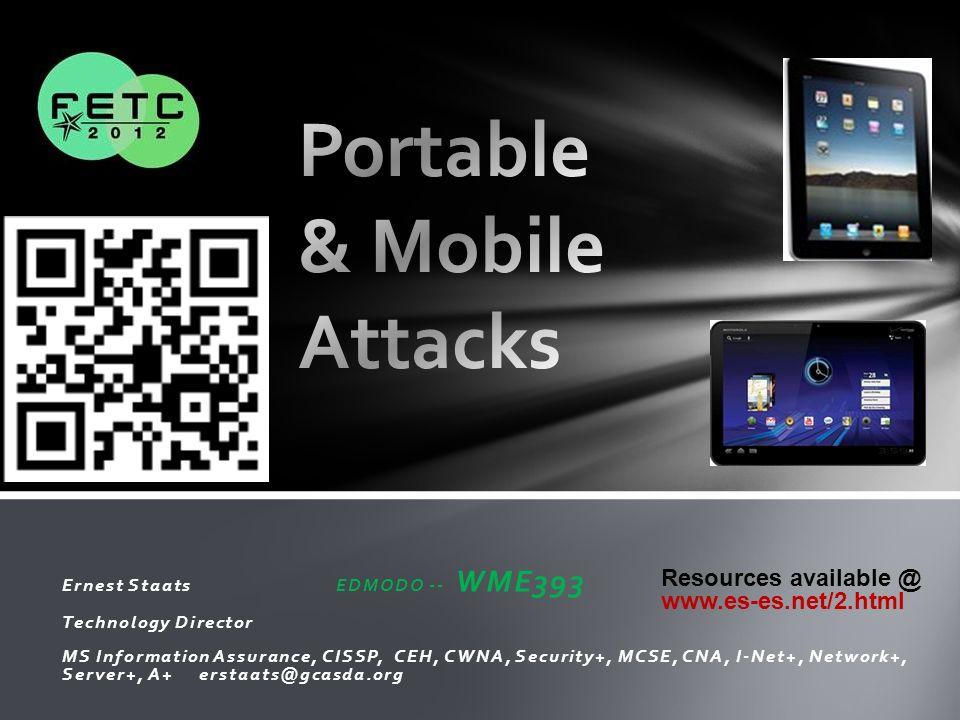 Portable & Mobile Attacks
