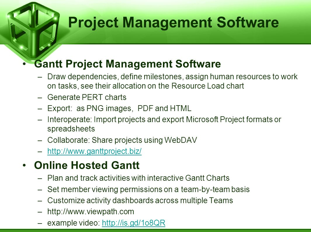 Project Management Software