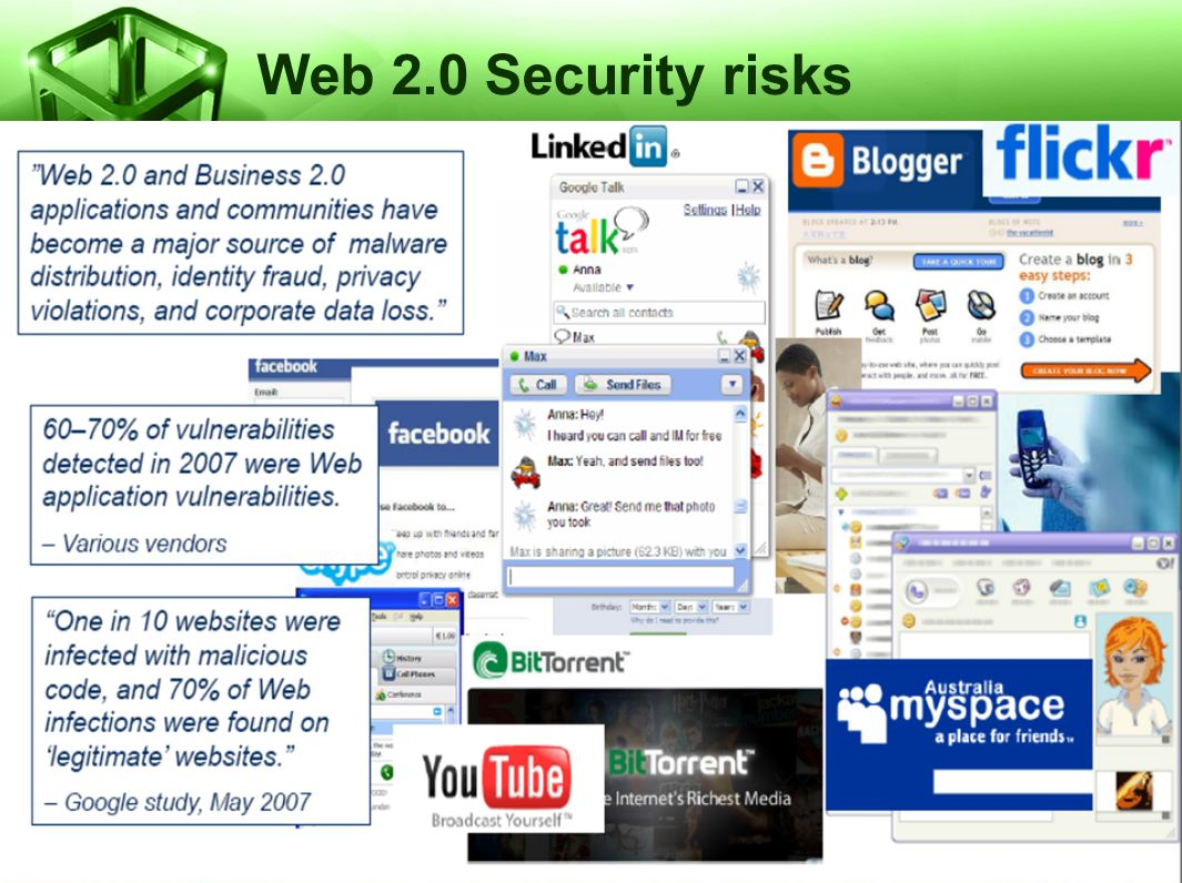 Web 2.0 Security risks