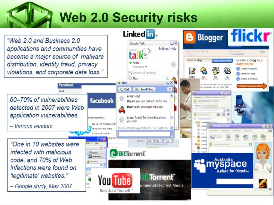 Web 2.0 Security risks