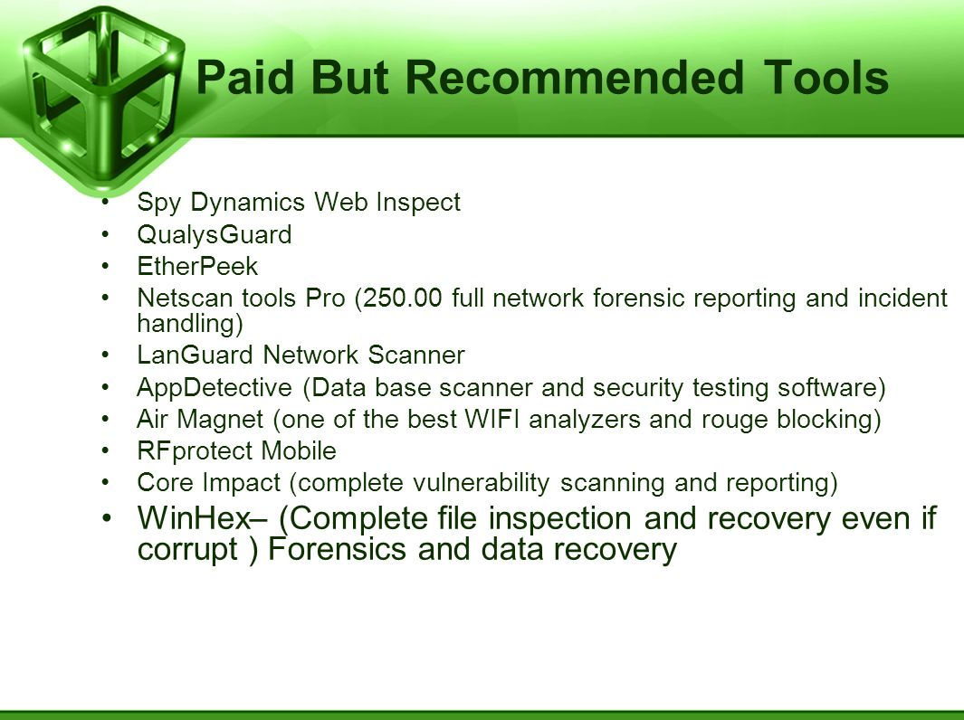 Paid But Recommended Tools