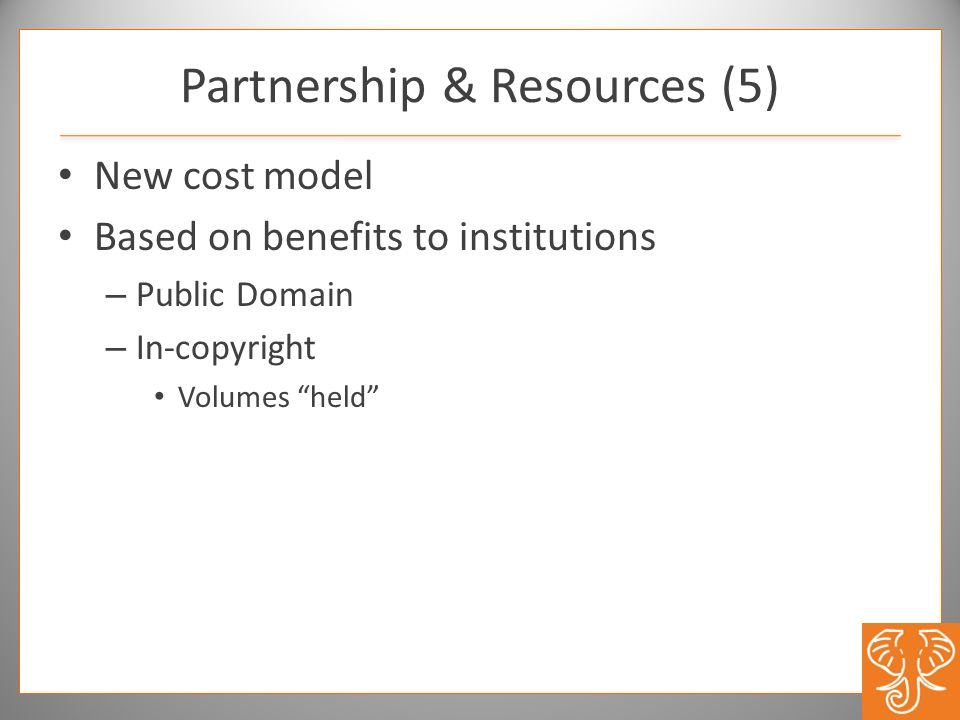 Partnership & Resources (5)