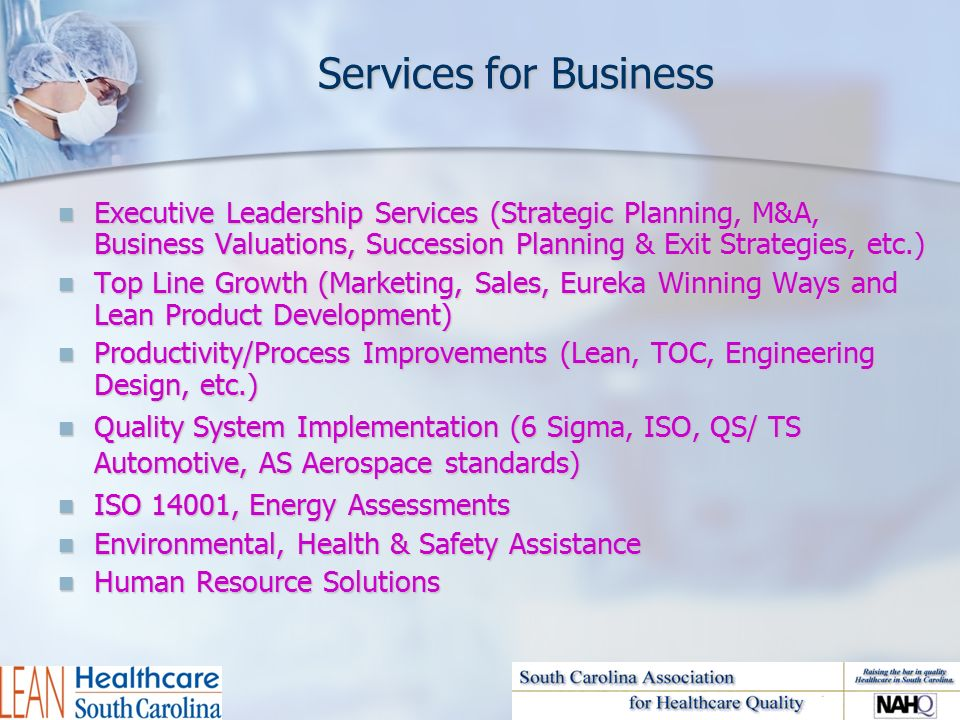 Director Of Lean Healthcare South Carolina Ppt Video