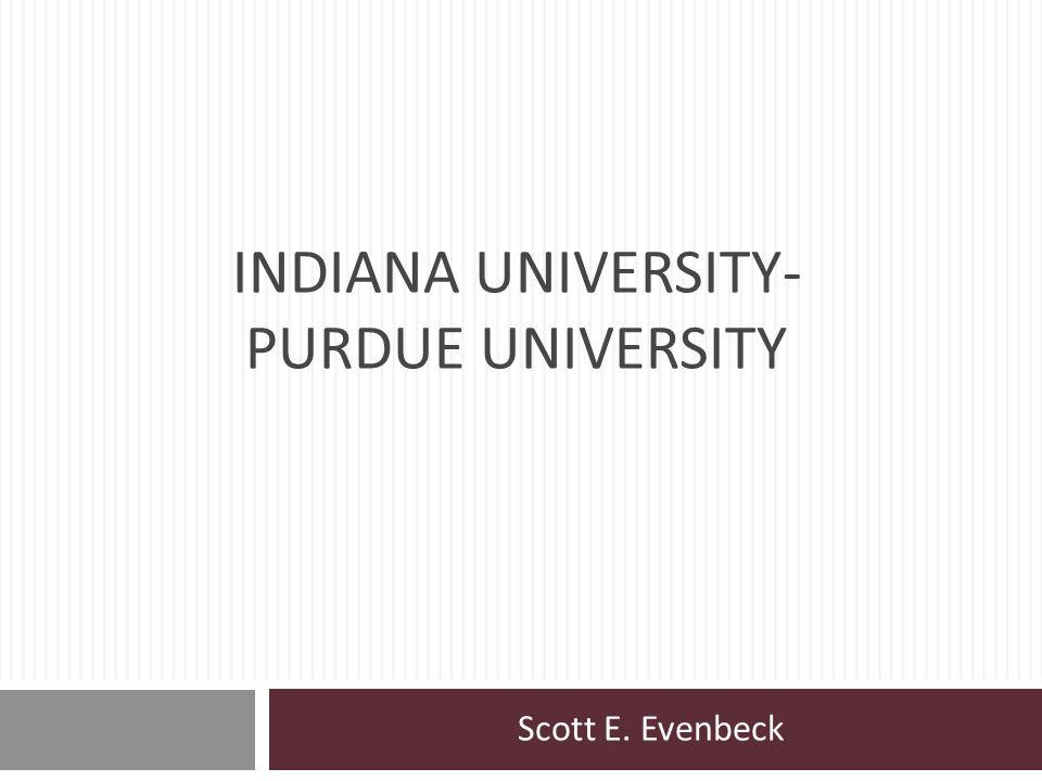 Indiana university-purdue university
