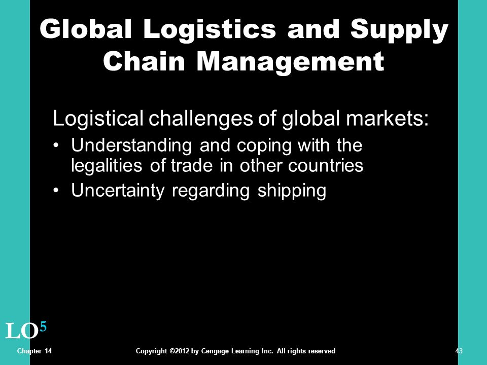 Supply Chain Management: challenges and solutions