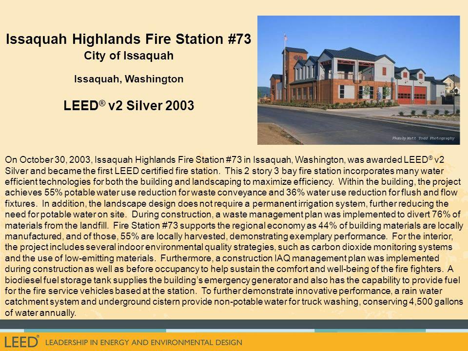 Issaquah Highlands Fire Station #73