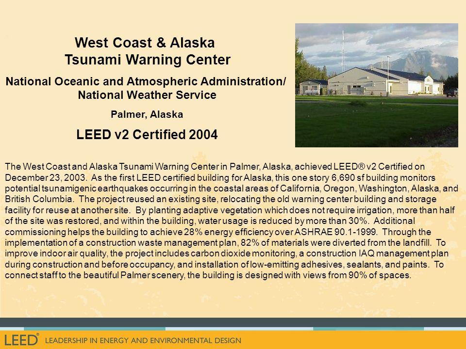 West Coast & Alaska Tsunami Warning Center