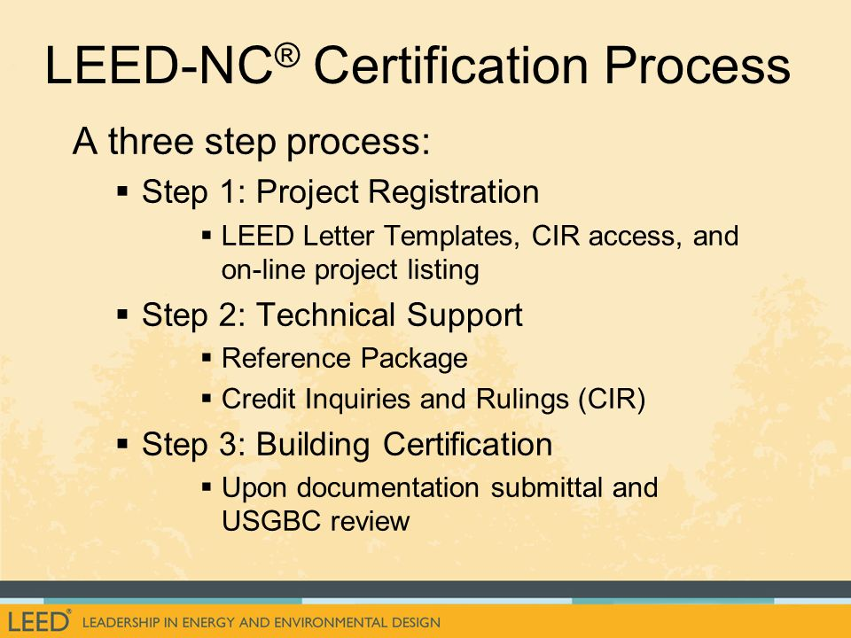 leed letter template - an introduction to the u s ppt download