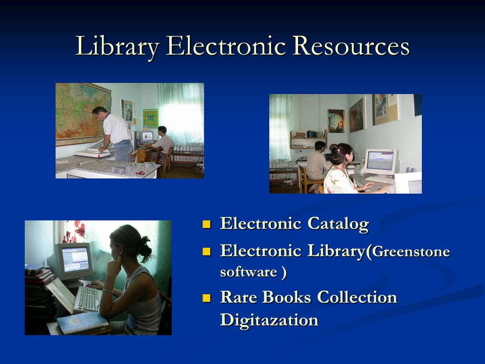 Library Electronic Resources