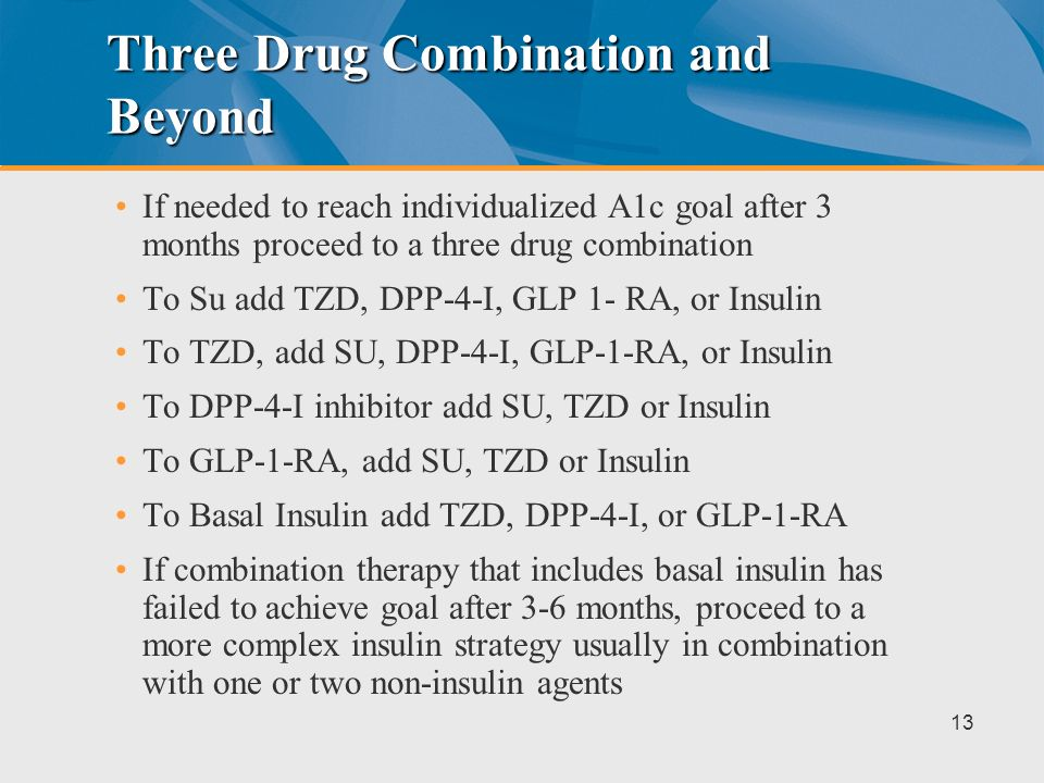 Three Drug Combination and Beyond