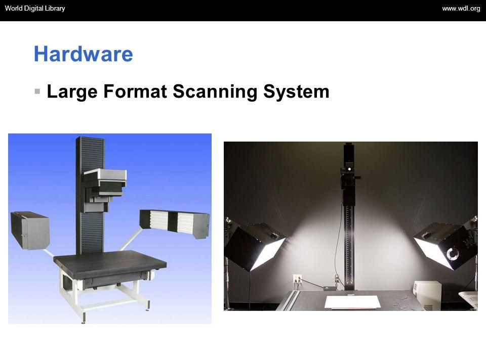 Hardware Large Format Scanning System