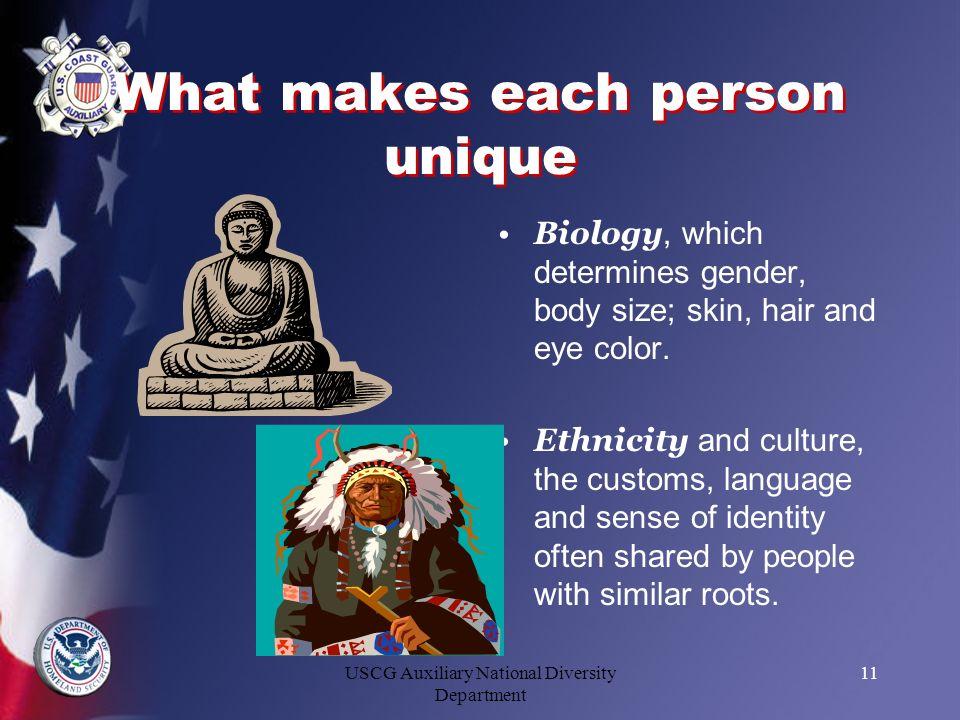 What makes each person unique