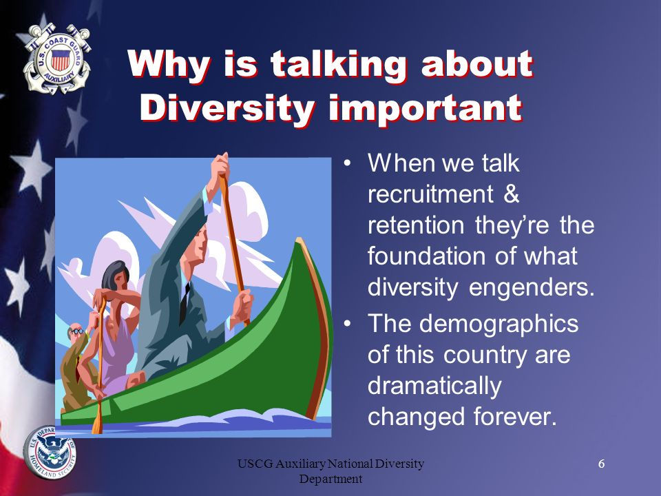 Why is talking about Diversity important