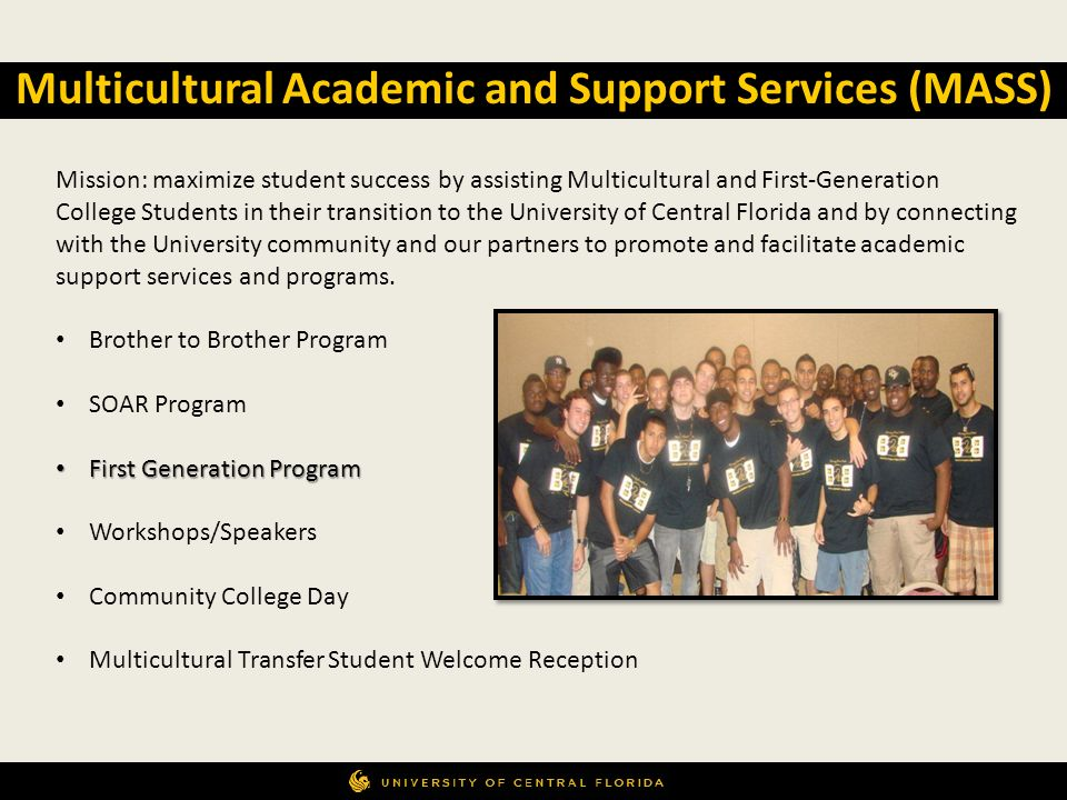 Multicultural Academic and Support Services (MASS)
