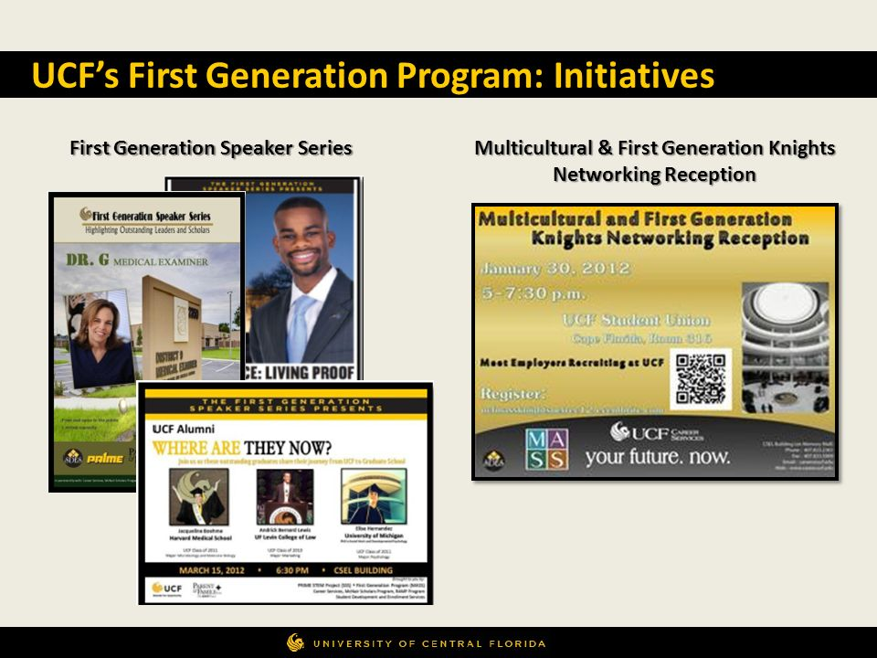 Multicultural & First Generation Knights Networking Reception