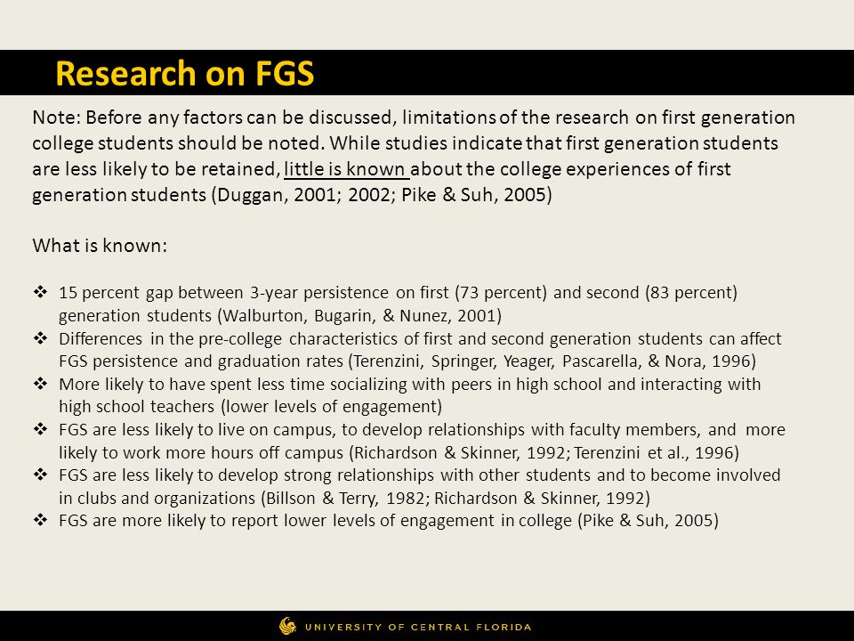 Research on FGS