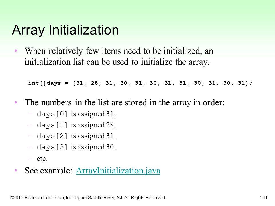 list to array