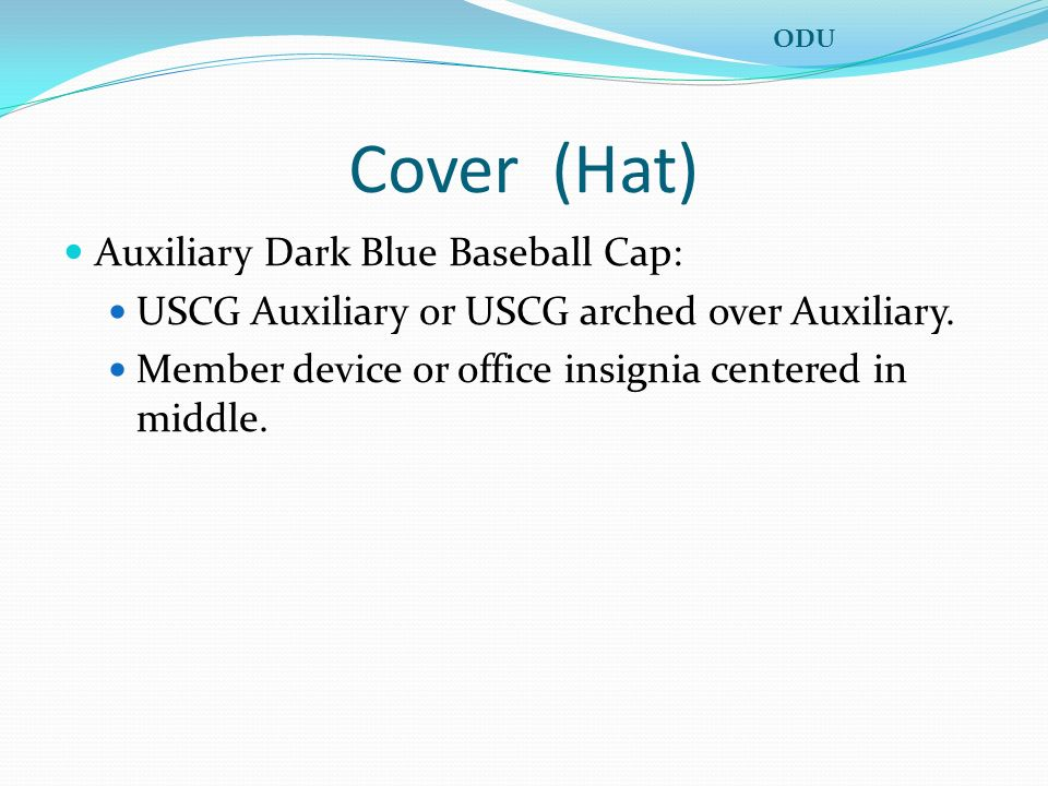 Cover (Hat) Auxiliary Dark Blue Baseball Cap: