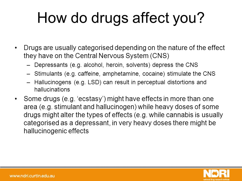 an analysis of the stimulant drugs for the central nervous system Full-text paper (pdf): central nervous system stimulants and sport practice.